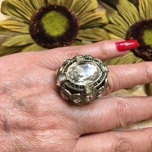 Heidi Daus Age of Elegance statement ring